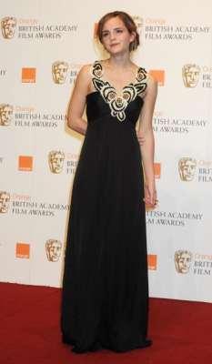 Emma Watson at the BAFTA's 2009