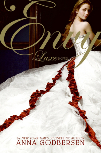 Envy par Anna Godbersen/Cover model Laura Flemming