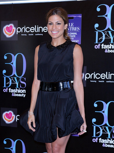 Eva Mendes images Eva At 30 Days of Fashion Beauty. wallpaper and background photos