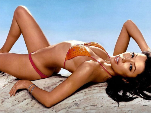 Eva Longoria wallpaper with a bikini and skin called Eva Longoria