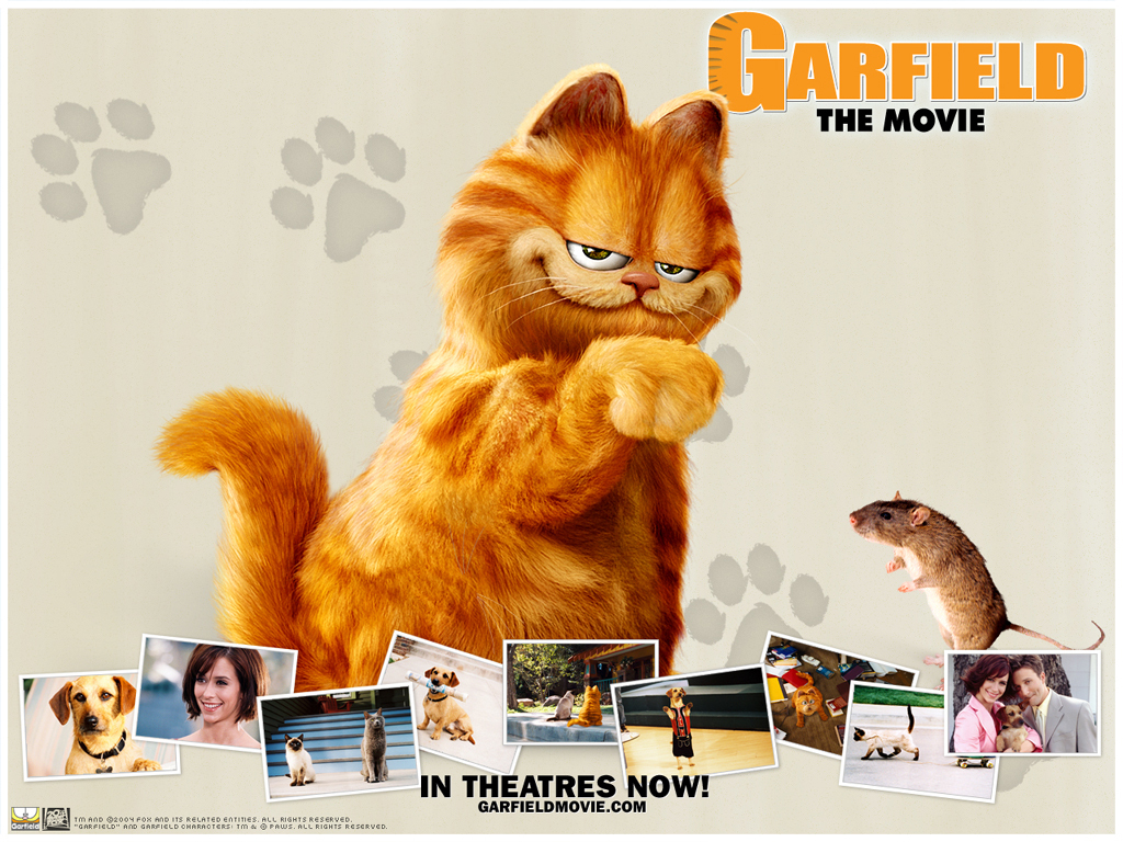 Garfield Movie Wallpaper - Garfield Wallpaper (192636) - Fanpop