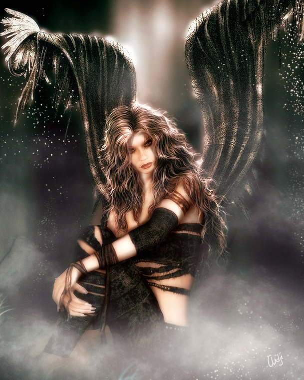 sexy fallen male angels wallpaper - photo #17