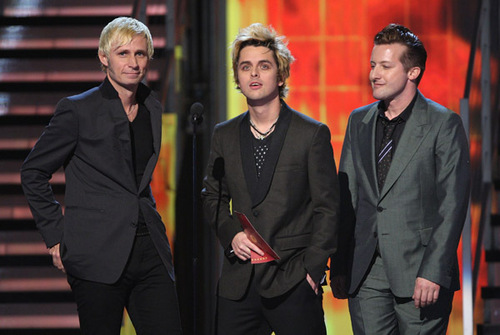 Green Day Presenting @ the 2009 Grammy Awards