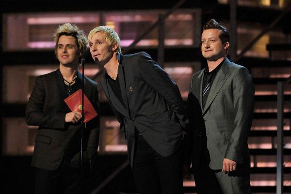 Green dag Presenting @ the 51st Grammy Awards 2009