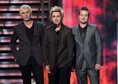 Green Day Presenting @ the 51st Grammy Awards 2009