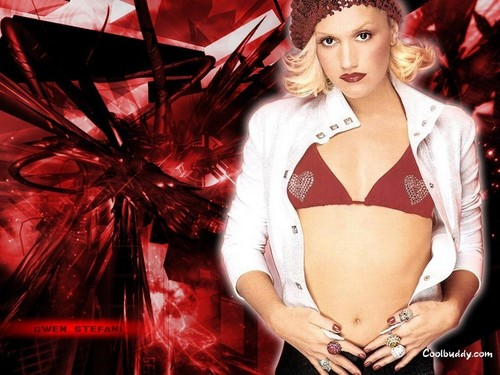 Gwen Stefani wallpaper possibly containing a bikini and an undergarment called Gwen Stefani