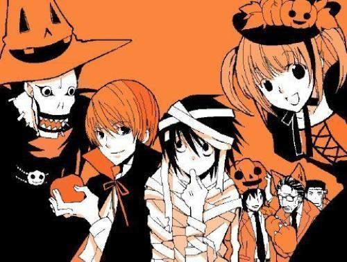 death note wallpaper with anime called halloween