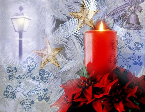 Christmas wallpaper containing a candle titled Holiday Remembrance