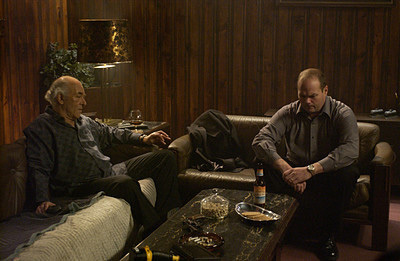 The Black Donnellys wallpaper probably with a fire entitled Huey & Sal