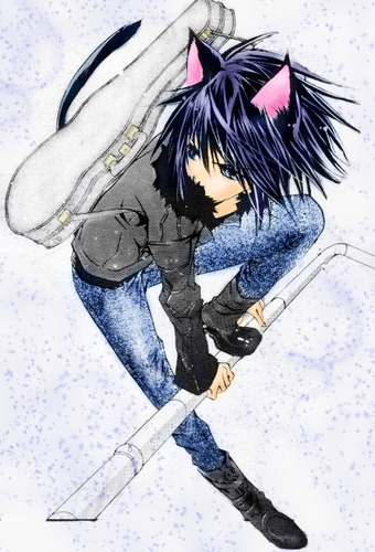 anime animal guys wallpaper containing a ski resort and a snowboard titled Ikuto