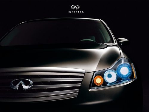 Infiniti Wallpaper With A Sedan Called M35 M45