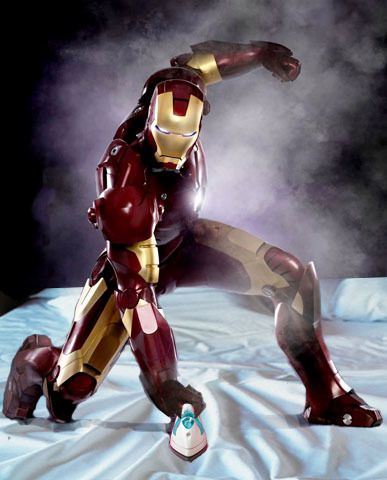 Iron Man wallpaper entitled Ironman Ironing