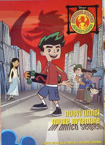 American Dragon: Jake Long hình nền with anime entitled Italiano Season 2