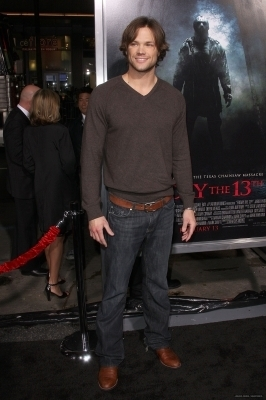 Jared Padalecki @ Friday the 13th Premiere