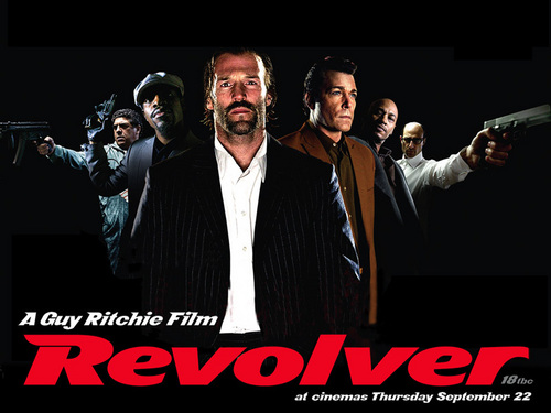 Jason Statham Hintergrund with a business suit titled Jason in Revolver