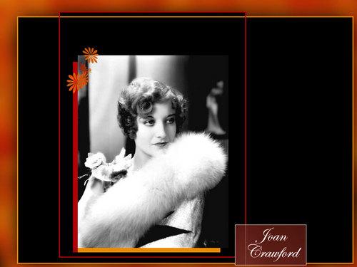 Joan Crawford karatasi la kupamba ukuta