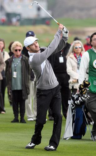 Justin @ 3M Celebrity Golf Challenge in Carmel, California