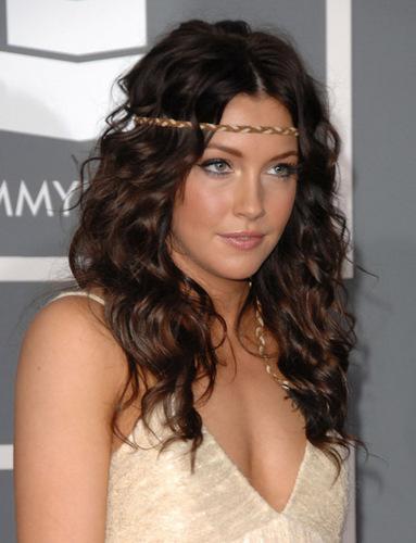 Katie Cassidy @ 51st Annual Grammy Awards