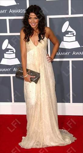 Katie Cassidy @ 51st Annual Grammy Awards
