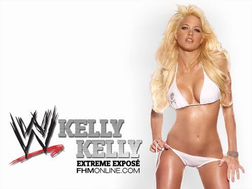 WWE Divas wallpaper possibly containing a bikini called Kelly Kelly