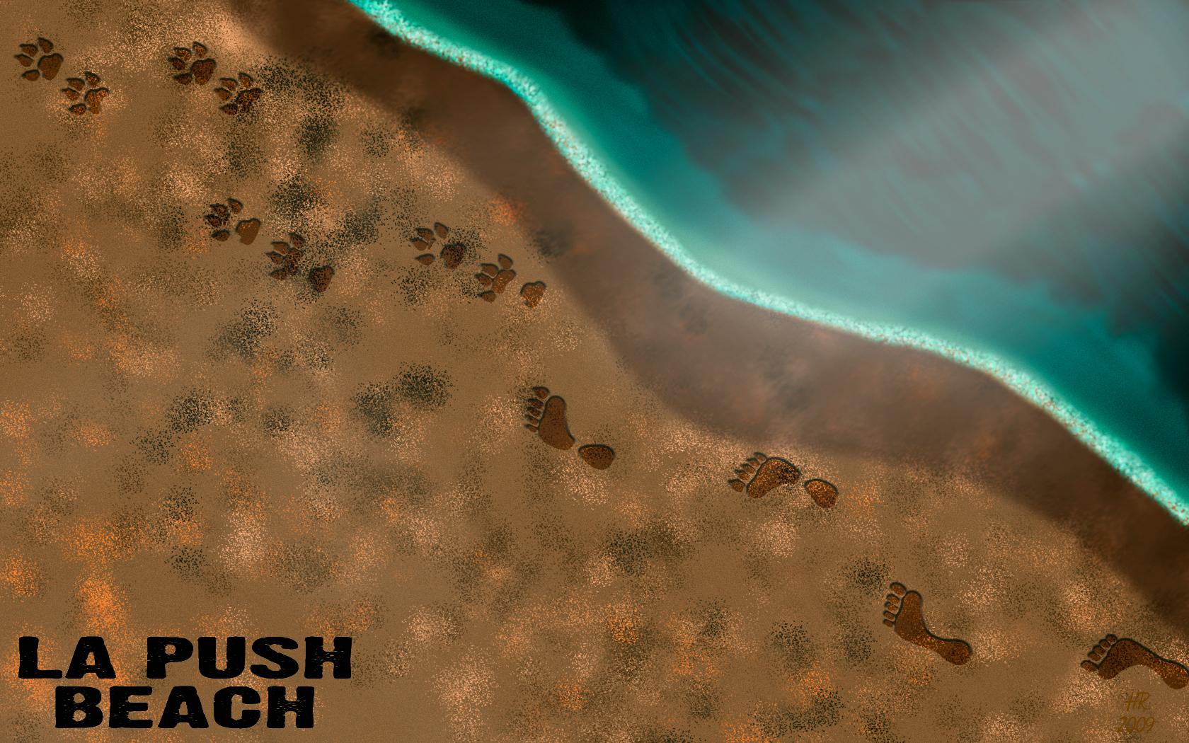 La Push пляж, пляжный