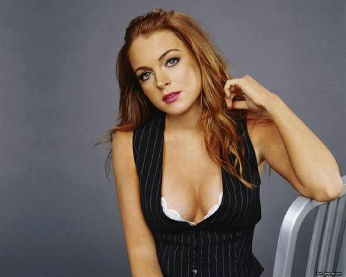 リンジー・ローハン 壁紙 with attractiveness and a portrait entitled Lindsay Lohan