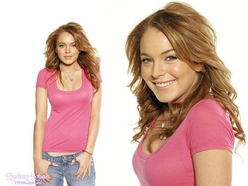 Lindsay Lohan wallpaper with a portrait titled Lindsay Lohan