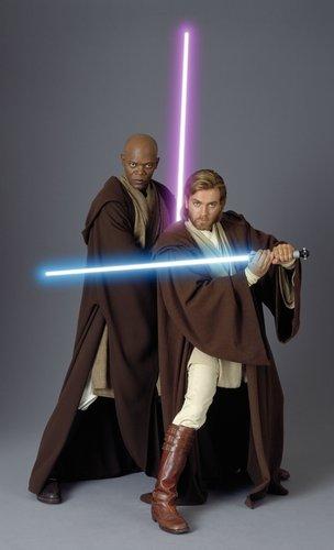 Mace Windu and Obi Wan Kenobi