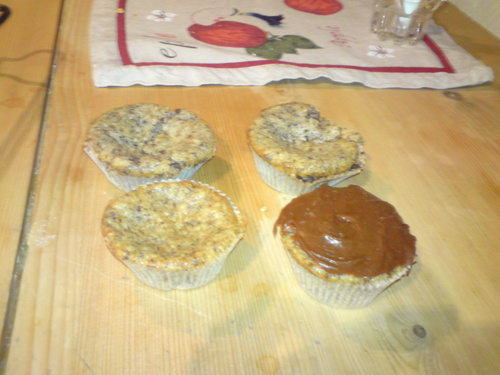 Muffins, my sister made