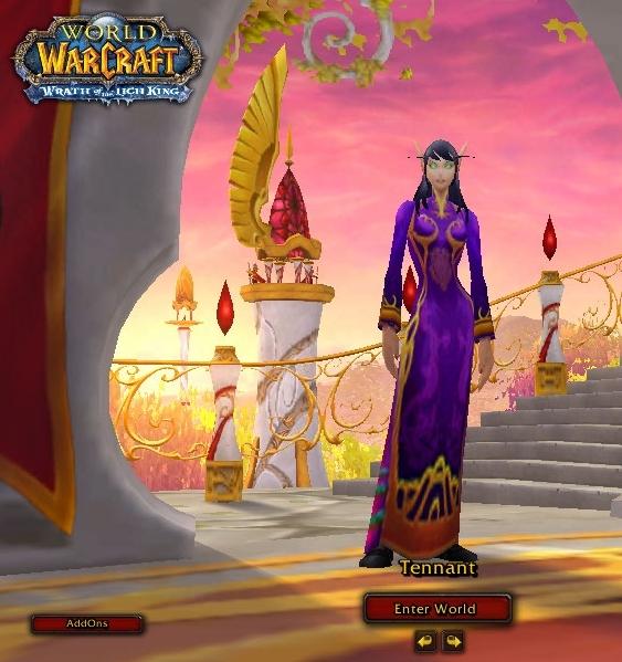 world of warcraft blood elf hunter. My level 71 hunter all dress