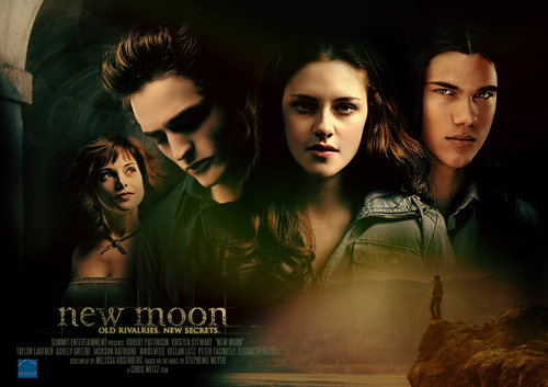 New Moon Poster - FM