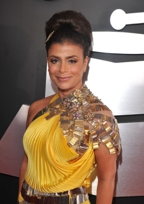 Paula @ the 51st Annual Grammy Awards