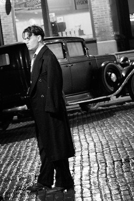 Public Enemies (behind the scenes)
