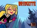 Punk Rocker Bridgette!! - total-drama-island fan art