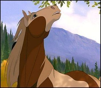 Spirit Stallion of the Cimarron Rain