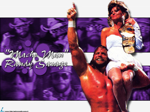 "Professional Wrestling wallpaper called Randy "" The Macho Man "" Savage - Classic WWF"