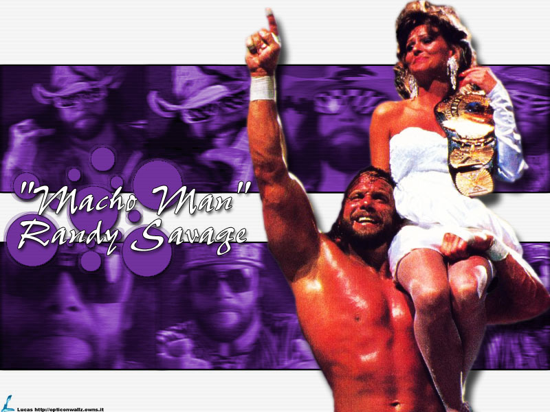 "wallpapers of wwf. Randy "" The Macho Man "" Savage - Classic WWF"