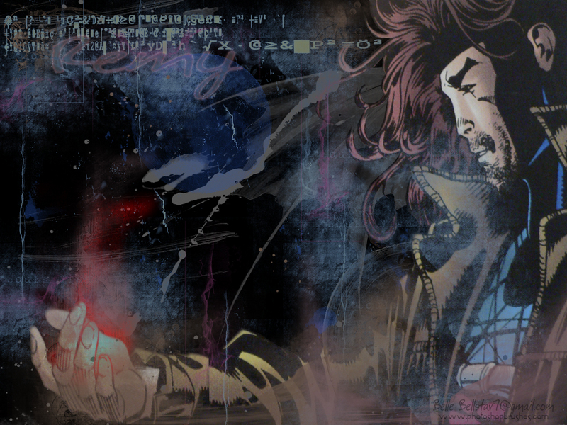 gambit wallpapers. Lebeau/Gambit Wallpaper