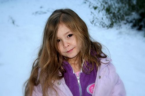 Renesmee Cullen (This is an actual picture of a girl in Forks WA)