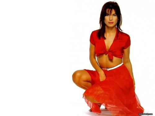 Sandra Bullock wallpaper probably containing skin called Sandra Bullock