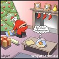 Santa's Underwear - graphic-humor photo