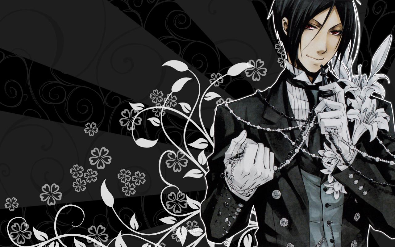 Sebastian's Wallpaper - Kuroshitsuji 1280x800