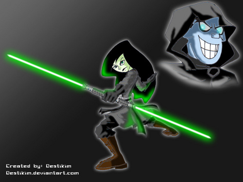 Shego & Drakken (Star Wars Style)