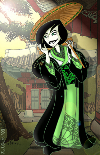 Shego in 和服