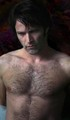 Shirtless Bill Compton (Stephen Moyer) - true-blood photo