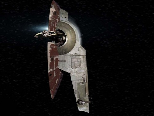Star Wars wallpaper titled Slave 1