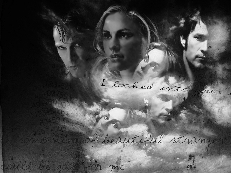 true blood bill wallpaper. Sookie and Bill