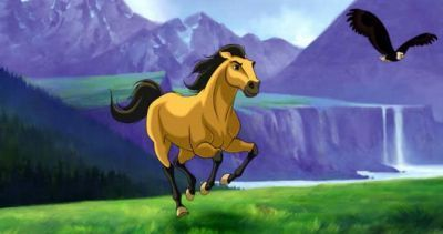Spirit: Stallion Of The Cimarron wallpaper possibly containing anime titled Sprit