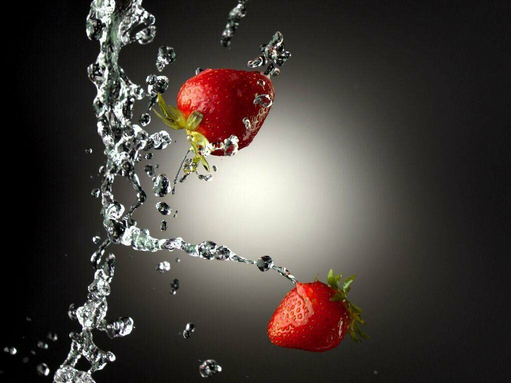 Love Quotes Images Strawberry Wallpapers Fruits Backgrounds