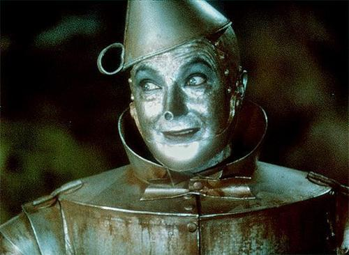 The Wizard of Oz پیپر وال titled Tin Man from the wizard of Oz
